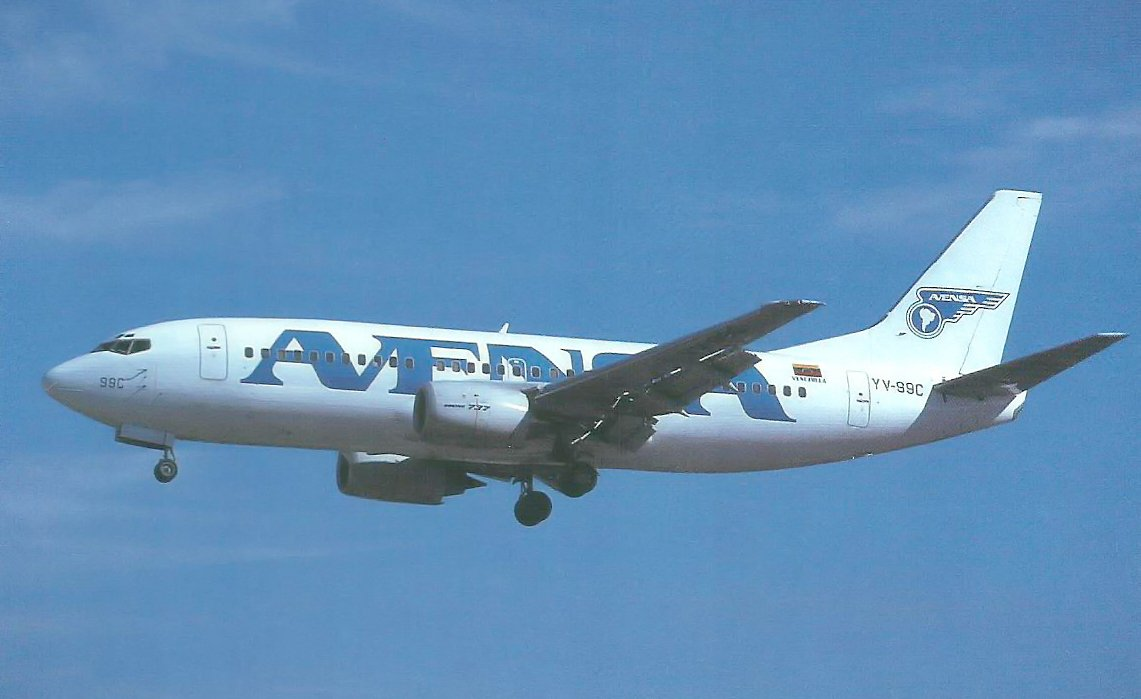 Avensa Airlines Vintage Airliners