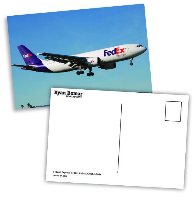 Plane Spotter Postcards